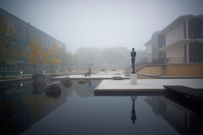 WSU Campus McGregor Reflection Pool